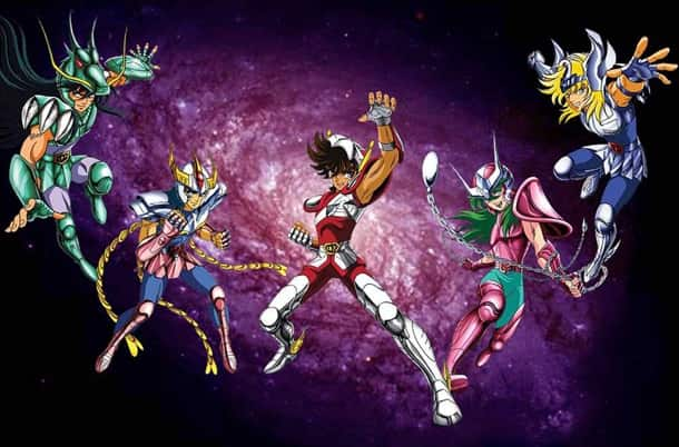 caballeros del zodiaco anime
