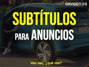 Subtitulos Anuncios